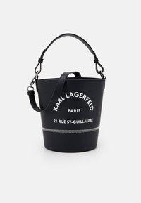 KARL LAGERFELD - RUE GUILLAUME BUCKET - Sac à main - black - 1