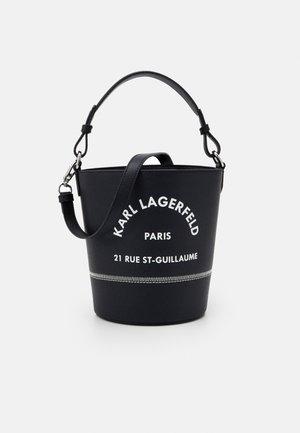 RUE GUILLAUME BUCKET - Handbag - black