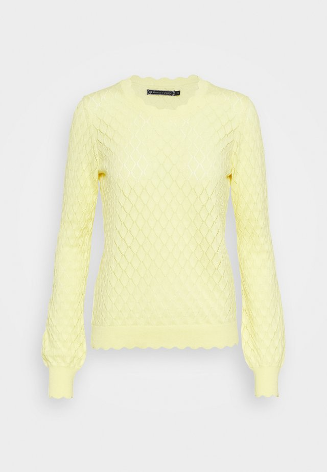RONY POINTELLE - Pullover - light lemon