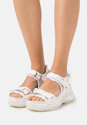 ACE - Platform sandals - white