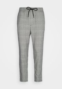Only & Sons - ONSLINUS CROPPED CHECK PANT  - Kalhoty - medium grey melange - 3