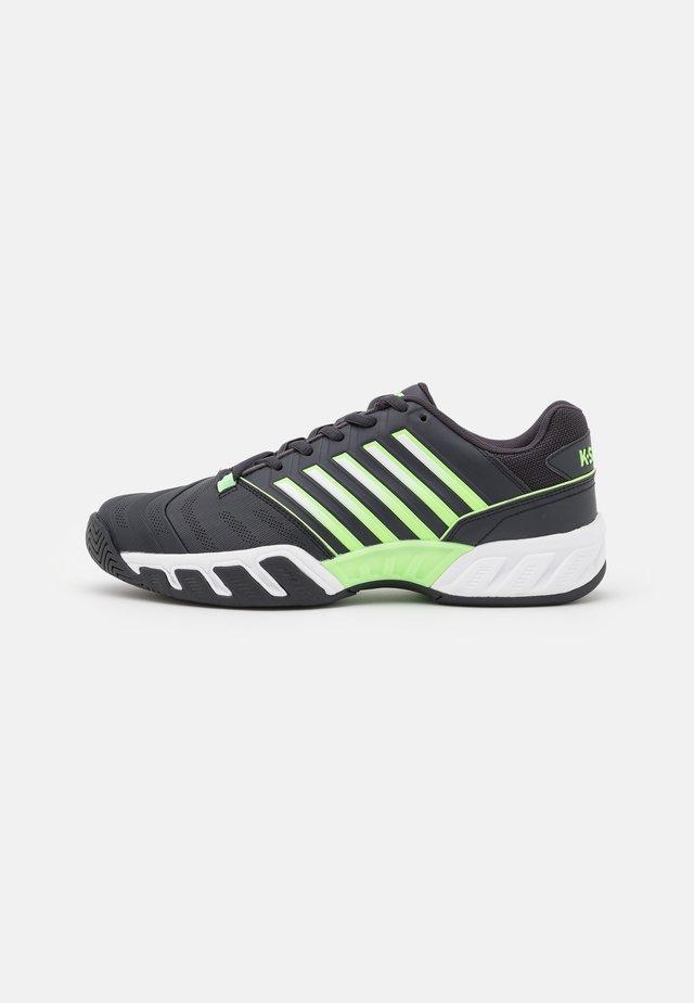 BIGSHOT LIGHT 4 - Tenisové boty na všechny povrchy - blue graphite/soft neon green/white