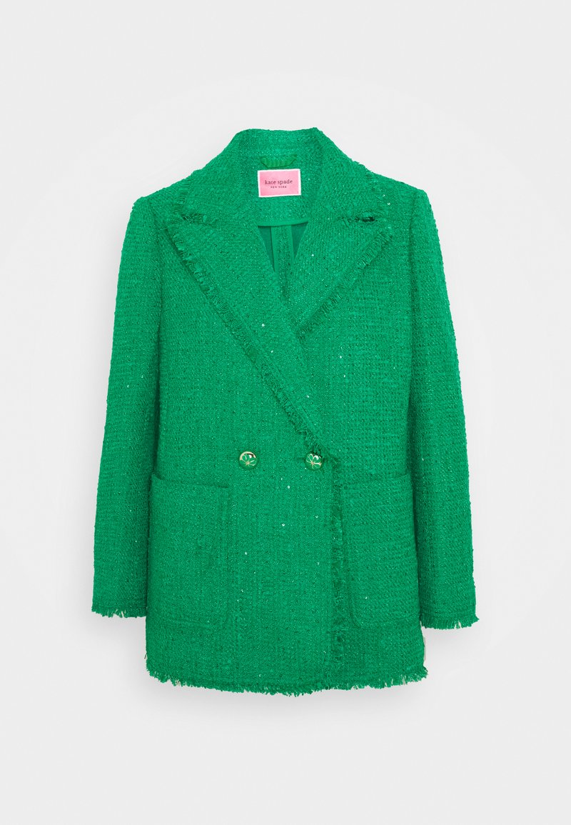 kate spade new york - SUMMER SEQUIN - Blazer - tropical leaf