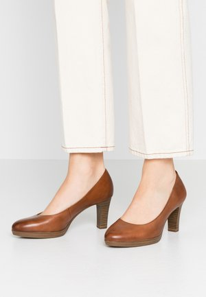 Platform heels - muscat