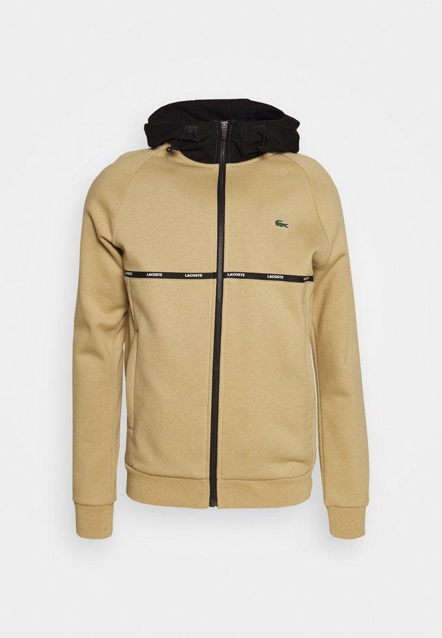 veste en sweat zippée - viennese/black/white