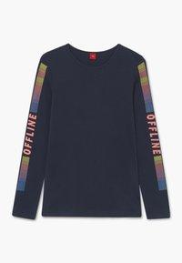 s.Oliver - T-shirt à manches longues - dark blue - 0