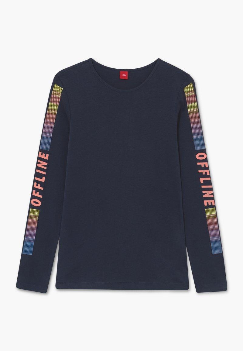 s.Oliver - T-shirt à manches longues - dark blue