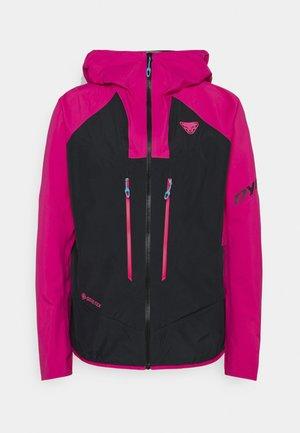 Hardshell jacket - flamingo