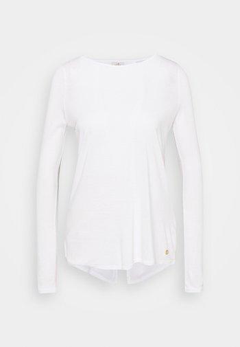 YOGA - Top sdlouhým rukávem - white