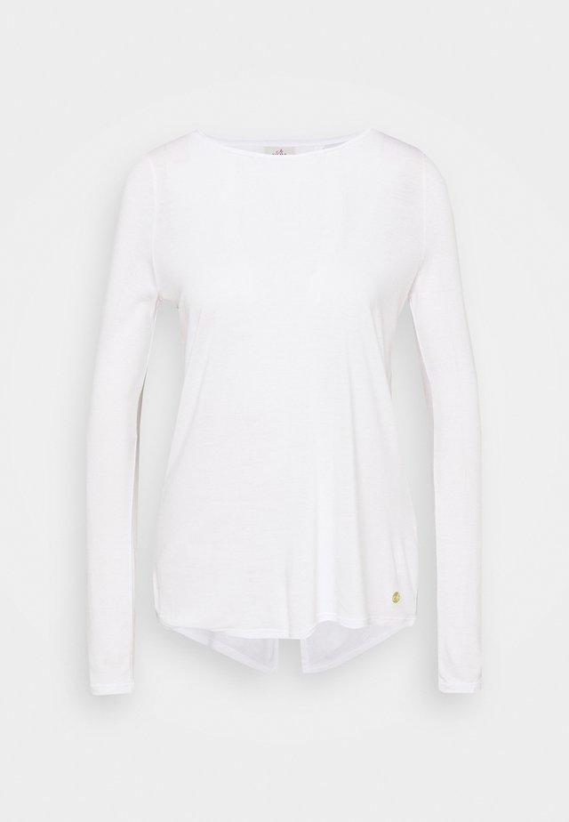 YOGA - T-shirt à manches longues - white