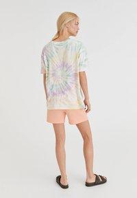 PULL&BEAR - Print T-shirt - blue - 2