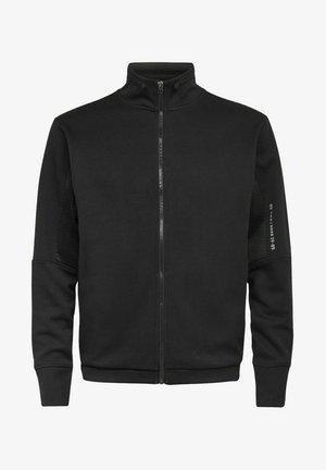 MOTO TRACK - Zip-up hoodie - dk black