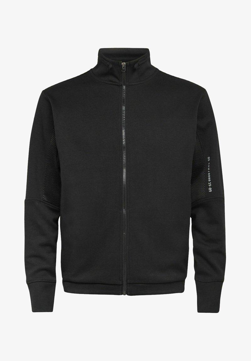 G-Star - MOTO TRACK - Zip-up hoodie - dk black