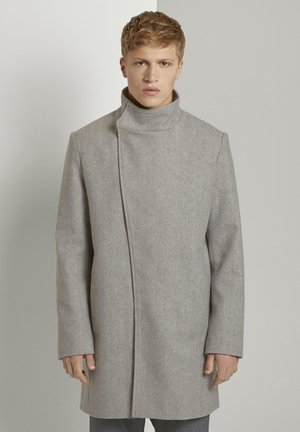 Short coat - grey herringbone