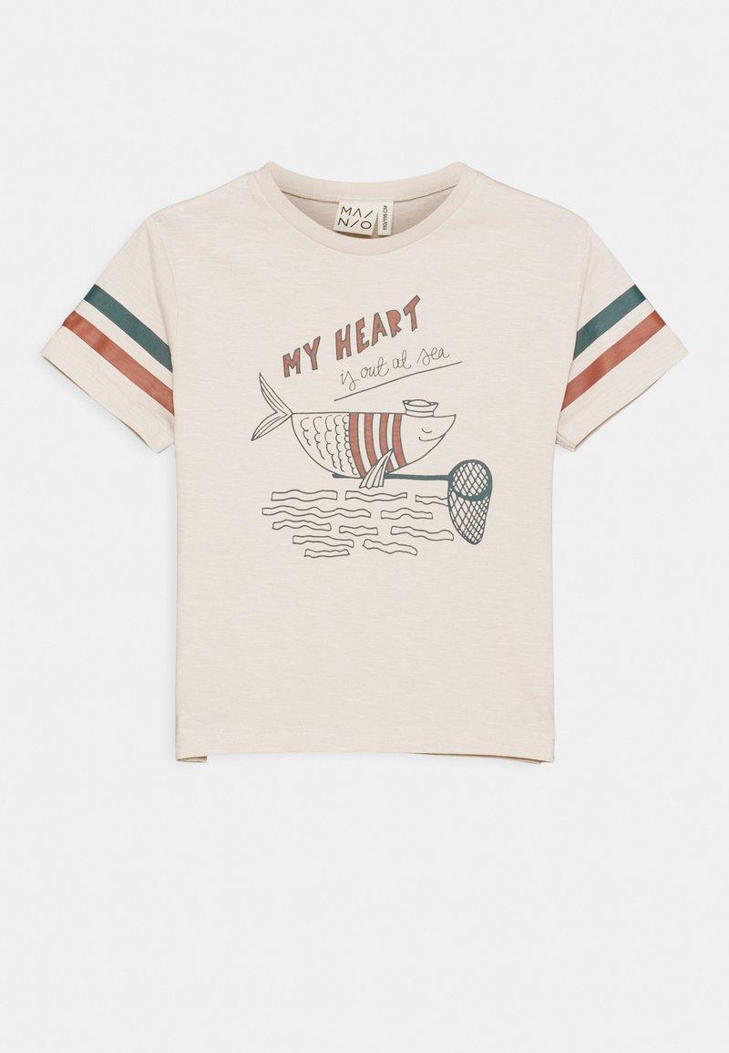 Mainio - SAILOR FISH UNISEX - Print T-shirt - moonbeam