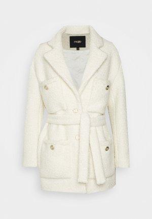 GUILIETTE - Klasický kabát - ecru