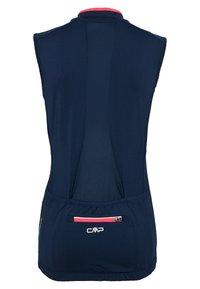 CMP - WOMAN BIKE SLEEVELESS - Funktionsshirt - blue - 1
