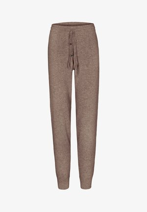 Tracksuit bottoms - taupe mel.