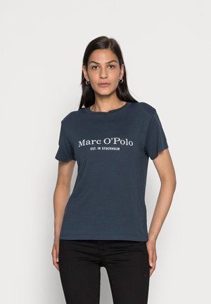 SHORT SLEEVE ROUND NECK PLACED PRINT - Print T-shirt - breezy sea