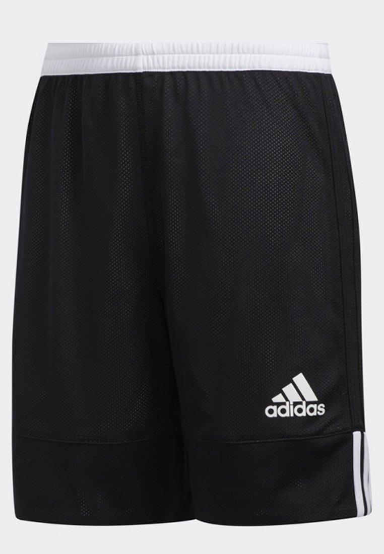 adidas Performance 3G SPEED REVERSIBLE SHORTS - Krótkie spodenki sportowe - black/white - Ubranka dla dzieci