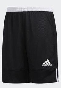 adidas Performance - 3G SPEED REVERSIBLE SHORTS - Sports shorts - black/white - 4