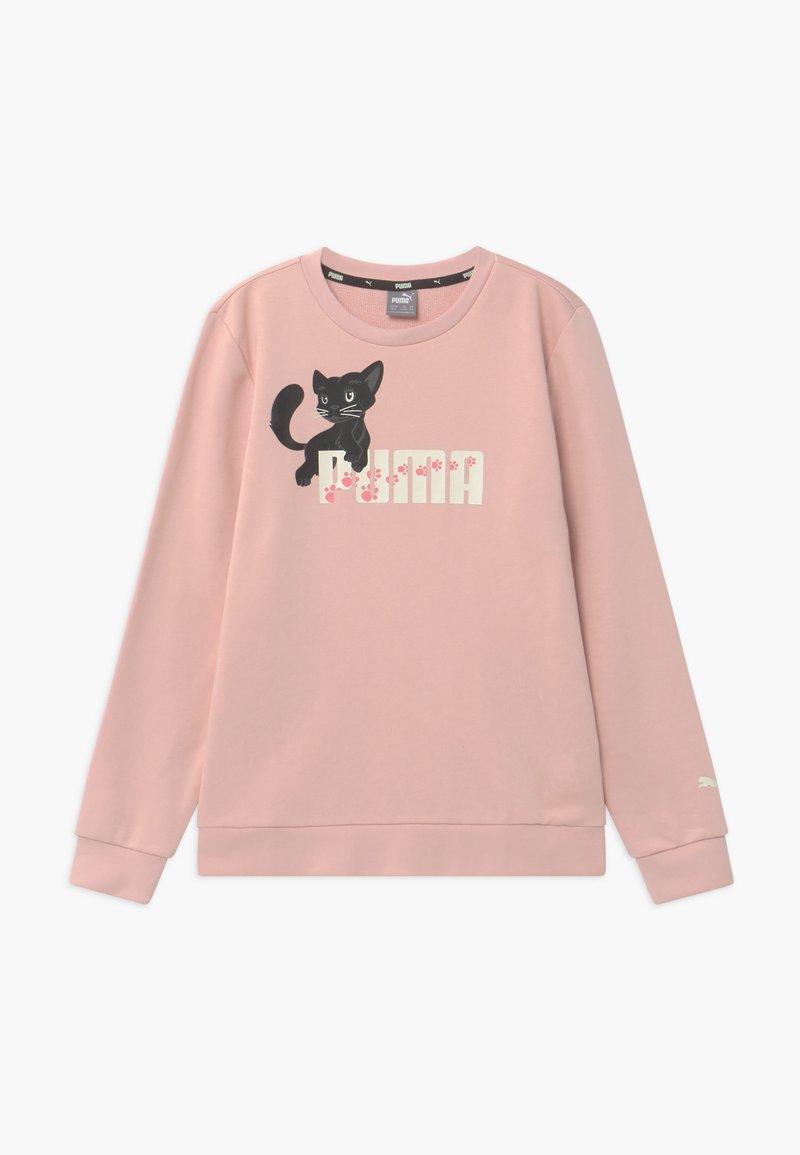 Puma - ANIMALS CREW - Sweatshirt - peachskin