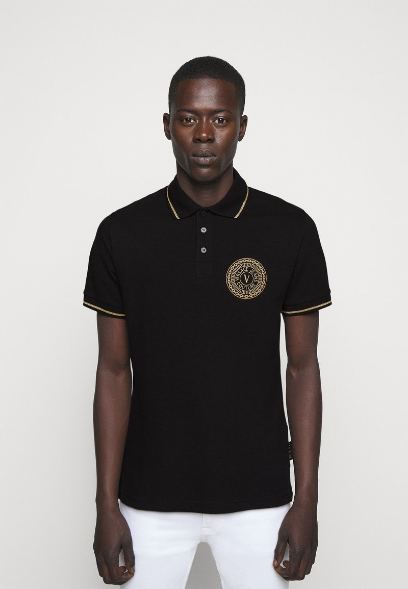 Versace Jeans Couture - ADRIANO LOGO - Polo shirt - nero