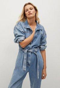 Mango - Jumpsuit - medium blue - 2