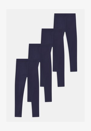 4 PACK - Leggings - Hosen - dark blue
