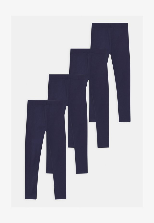 4 PACK - Leggingsit - dark blue