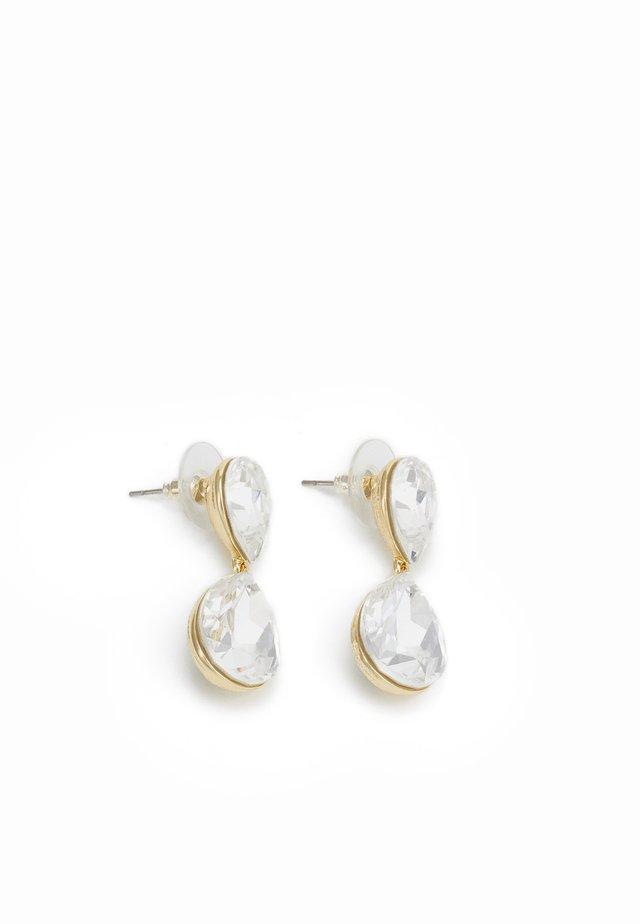 WEST PENDANT - Earrings - white