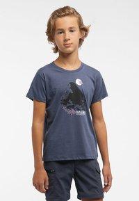 Haglöfs - CAMP TEE - Print T-shirt - dense blue - 1
