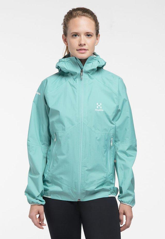 L.I.M - Waterproof jacket - glacier green