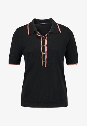 SPORTY - Polo shirt - black