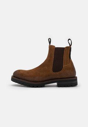 CORTZ - Classic ankle boots - cognac