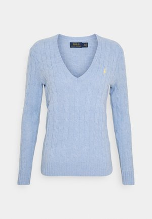 Svetr - light blue heather