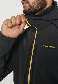 La Sportiva - THEORY HOODY  - Veste softshell - black - 3