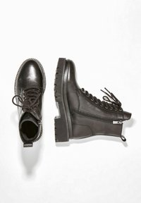 Inuovo - Lace-up ankle boots - black blk - 2