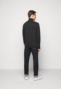 Polo Ralph Lauren - LONG SLEEVE SWEATER - Neule - dark granite heat - 2
