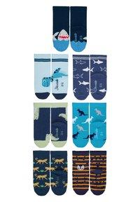 Sterntaler - SOCKEN 7ER-PACK ZOOTIERE - Socks - marine - 1