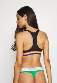 Calvin Klein Underwear - MODERN PRIDE UNLINED BRALETTE - Bustier - black - 2