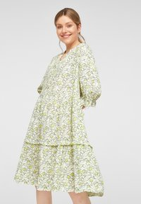 comma casual identity - Day dress - offwhite leaf - 6