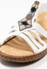 Rieker - Sandals - weiß - 2