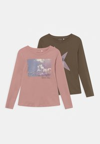 Name it - NKFVEEN 2 PACK - Long sleeved top - pale mauve - 0