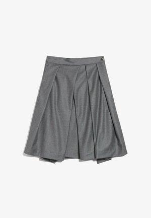 M-RAUNI-KN - Pleated skirt - grau