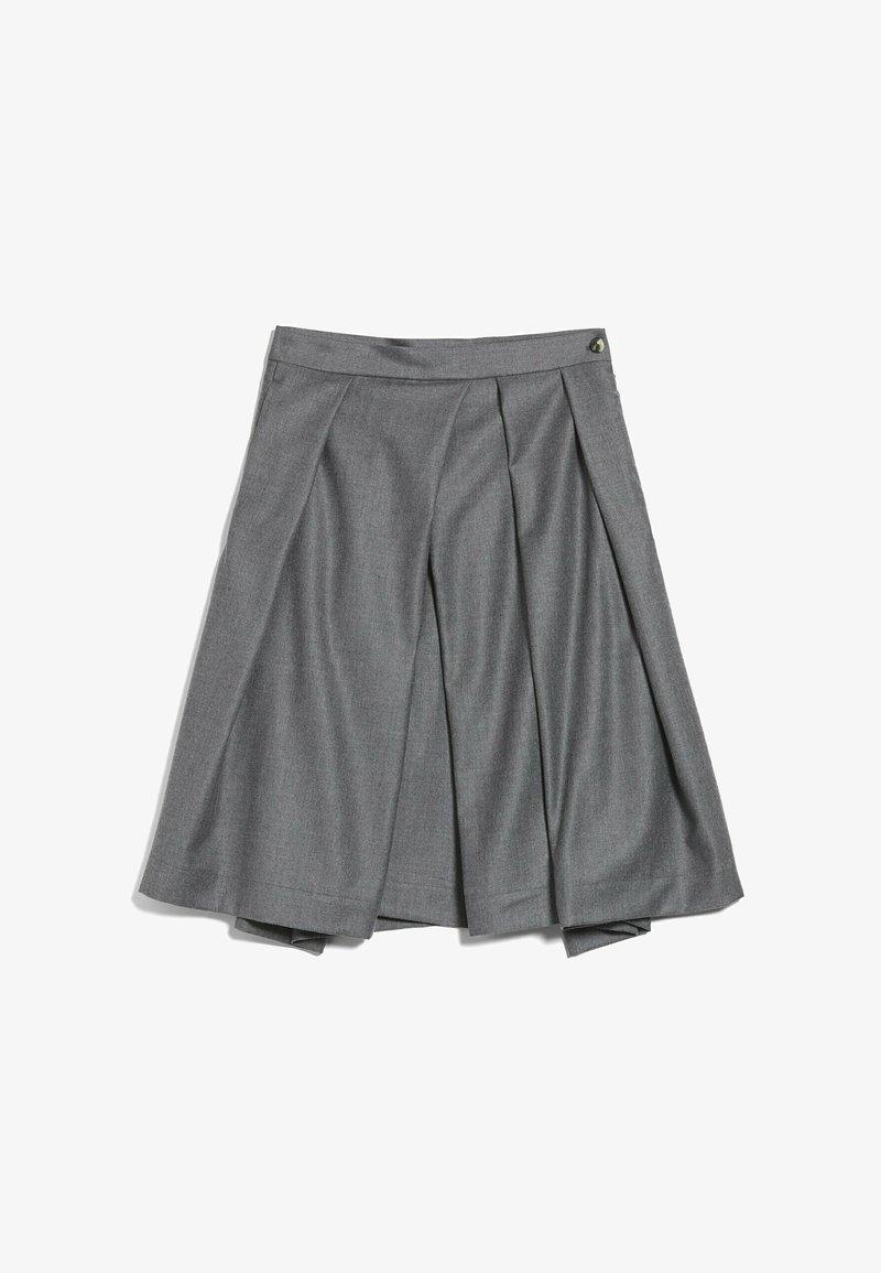 van Laack - M-RAUNI-KN - Pleated skirt - grau