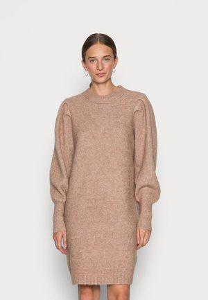 SLFLINNA MIA O NECK DRESS - Jumper dress - amphora
