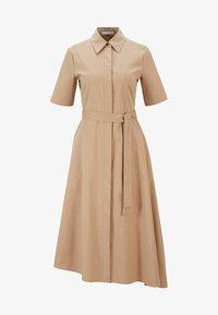 BOSS - DARANDA - Shirt dress - beige - 5