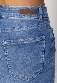 Pieces - PCAIA SKIRT - Denim skirt - light blue denim - 4
