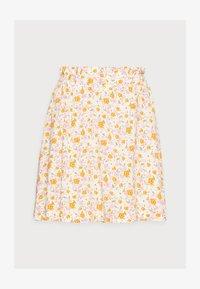 Selected Femme Petite - SLFMILLY SHORT SKIRT - Mini skirt - sandshell - 4